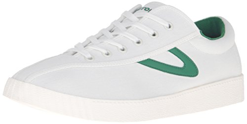 Tretorn Mens Sneaker Nyliteplus Vintage Bianco / Verde
