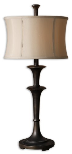 Uttermost Brazoria Oil Rubbed Bronze Table Lamp with Oil Rubbed Bronze Finish Uttermost Brazoria Oil