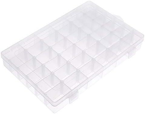 [スポンサー プロダクト]Opret パーツボックス パーツケース 収納ボックス 小物収納 釣り収納 小物入れ アクセサリー収納 透明ボックス 雑貨入れ 15グリッド (36グリッド)