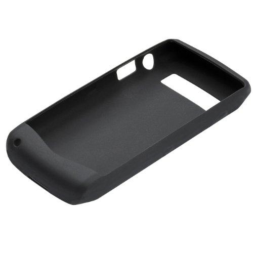 OEM Black Blackberry Rubber Gel Skin Silicone Case for Pearl 3G 9100