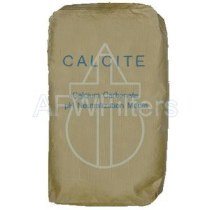 Calcite (Calcium Carbonate) pH Filter Media 1/2 cu. ft
