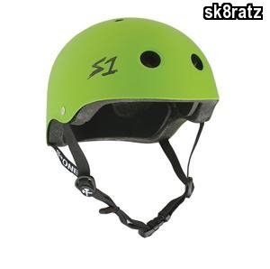 S-ONE Lifer CPSC - Multiple Impact Helmet - Bright Green Matte Small (21'')