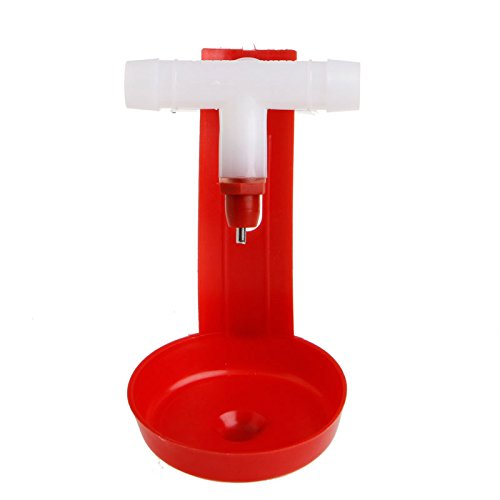 Delight-eShop-1510Pc-Poultry-Hanging-Water-Drinking-Cups-Chicken-Hen-Automatic-Fowl-Drinker