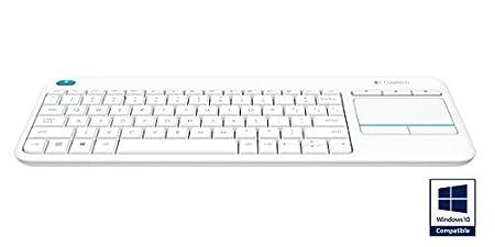 10 X Logitech Wireless Touch Keyboard K400 Plus QWERTY UK Layout