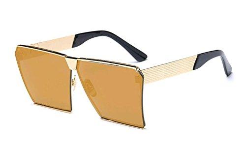 GAMT Polarized Mirrored Square Designer Sunglasses for Women Driving UV400 - Replica Luxury Sunglasses