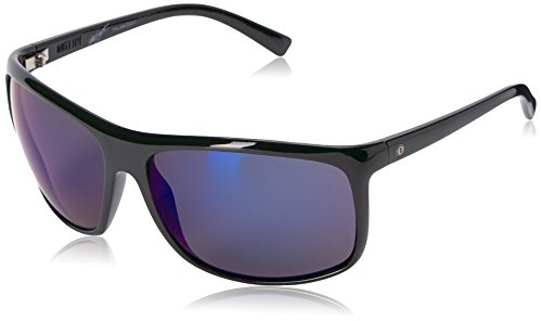 Electric Visual Outline Gloss Black Polarized - Sunglases.com