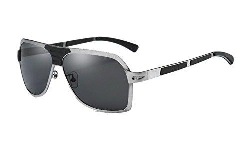 Viaje Hombre Aire Libre de Conducir 400 Visera Marco Pescar Sol Gafas Polarizado Protección BBYY UV Vintage Grande tPw7F4q