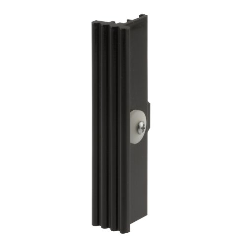 Prime-Line Products F 2643 Adjustable Self Latching Sliding Window Latch and Pull, Black ()