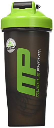 MusclePharm Shaker 28oz Blender Bottle Black
