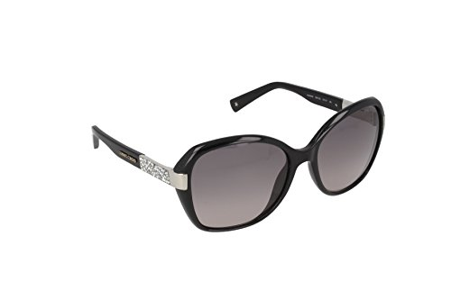 (Jimmy Choo Women's Alana/S Shiny Black/Gray Gradient)