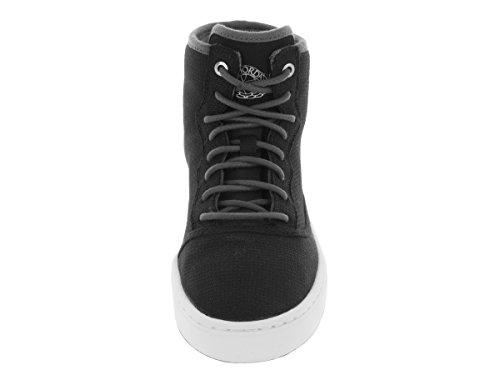 Nike Jordan Jasmine Gg, Zapatillas de Running Para Niñas Negro / Plateado / Gris / Blanco (Black / Mtllc Silver-Drk Gry-Wht)