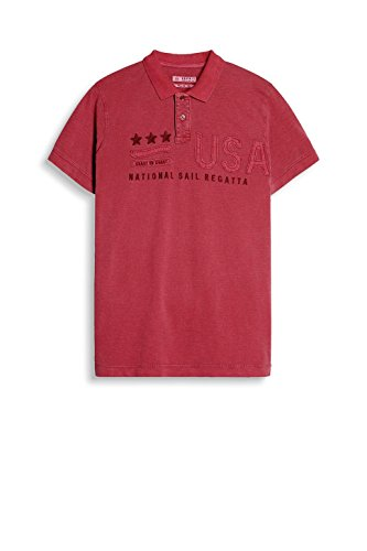 Rouge Esprit Homme Red Polo coral wnqAgYnS