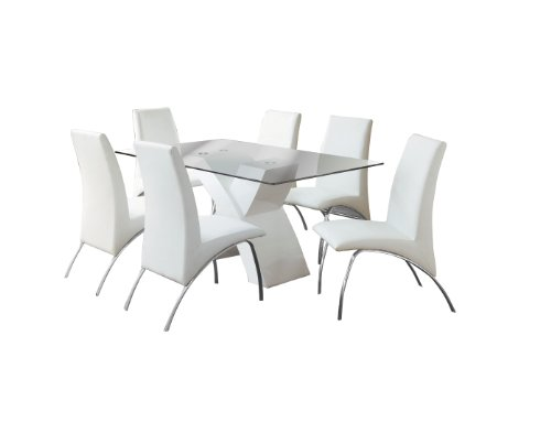 Furniture of America Rivendale 7-Piece Modern