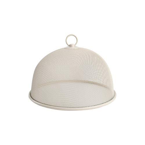 Cheese Dome Cream - T&G Provence Food Dome Cover in Cream Wireware