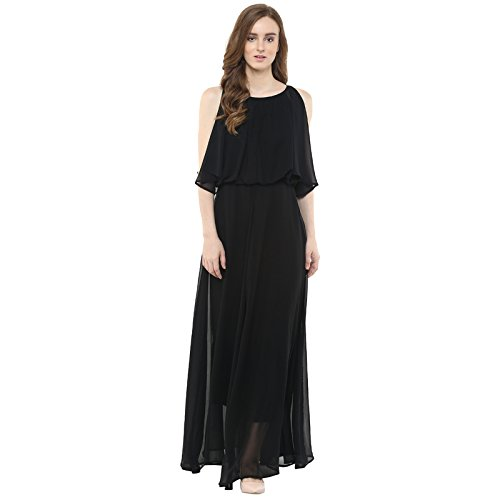 db35a5a3b Harpa Women s A-Line Knee-Long Dress  Amazon.in  Clothing   Accessories