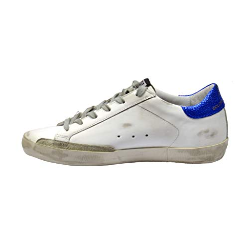 Pelle Golden Donna Goose Sneakers Bianco G34ws590m32 qHPPIwYF