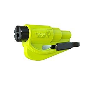 Resqme GBO-RQMTWIN-YELLOWFLUO Herramienta Rompecristales, Amarillo Fluorescente, 1 Unidad 16