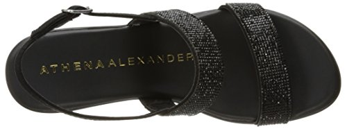 Athena Alexander Women's Azrael Platform Dress Sandal Black zVbXJ8b8