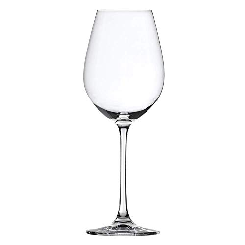 Spiegelau Salute White Wine Glasses - (Clear Crystal, Set of 4, 16.4 oz. capacity each) (White Wine Glasses Set Of 4)