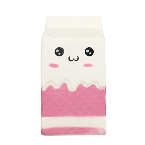 Kawaii4girl Squishy lento aumento de Jumbo caja de leche Squishy Kawaii Squishies Regalo de Navidad Juguetes