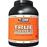 Sports Nutrition Europe 5000g Chocolate True Gainer Supplement by Sports Nutrition Europe