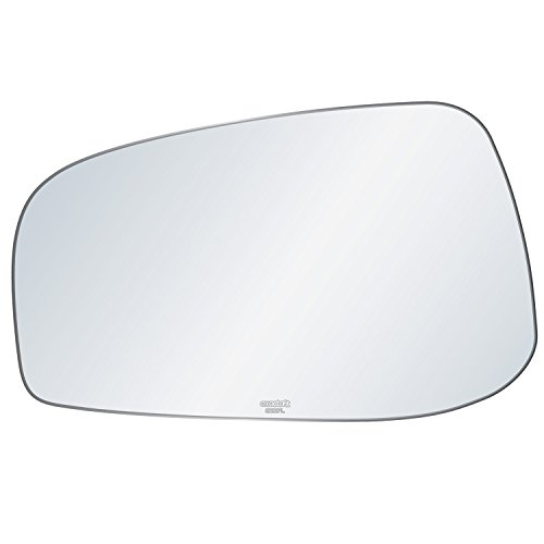 exactafit 8227L Driver Left Side Mirror Replacement Glass 2004 2005 2006 Volvo S60 S80 V70 ()