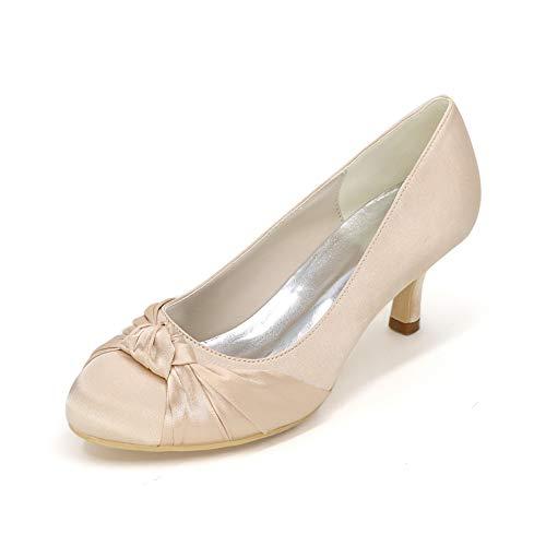 Silk Wedding Shoes - 7