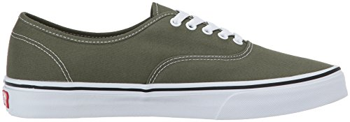 Vans Authentic, Zapatillas de Entrenamiento Unisex Adulto Verde (Winter Moss/true White)