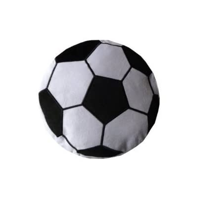 Soccer Ball Plush Pillow: Home & Kitchen