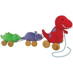 Plush Dino and Babies Pull Toys, Baby & Kids Zone