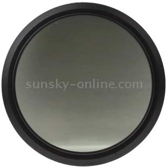 Ychao1ya Camera Filters 67mm ND Fader Neutral Density Adjustable Variable Filter ND 2 to ND 400 Filter