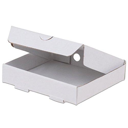 JB Prince Corrugated Mini Pizza Box - 3.5-in Square 100 Pack -