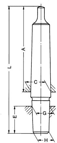 Lobinger/® Mandrin conique MK2 B16