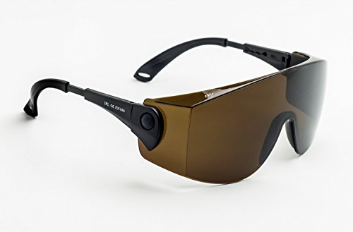 Laser Safety Glasses with IPL Brown Contrast Enhancement - Model ()