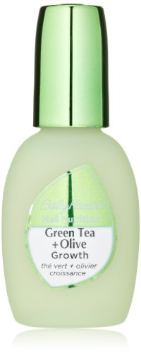 Sally Hansen Treatment Nail Nutrition Green Tea & Olive Leaf Nail Growth-0.45 oz - Green Tea Nails