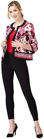Joseph Ribkoff Vanilla/Multi Jacket Style 202367 (14)