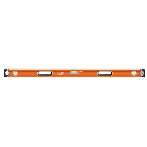 Swanson SVLB48 48-Inch Lighted Non-Magnetic Box Beam Level with 2 Energizer Batteries
