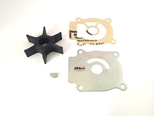 Water Pump Impeller Kit 17400-96402 96401 96400 fit Suzuki Outboard DT DF 25HP 30HP 2/4 stroke (Replacement Outboard Impeller)