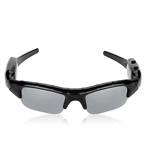 Amrka HD Fashion Camera Sunglasses Glasses Cams DVR Video Recorder Ski Bike Action Hidden ()