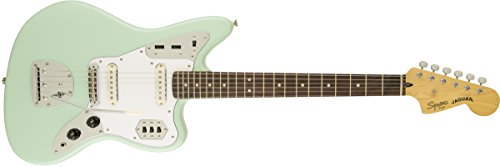 (Squier by Fender Vintage Modified Jaguar Electric Guitar - Surf Green )