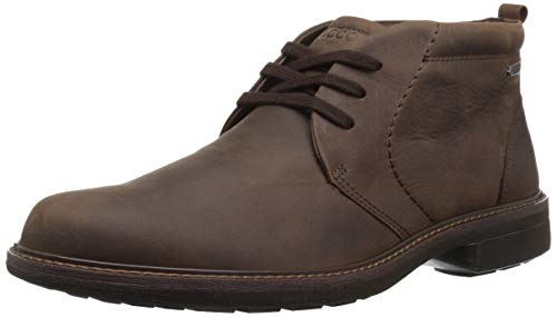 ECCO Men's Turn GTX Boot Chukka, Cocoa Brown Nub, 43 M EU (9-9.5 US)