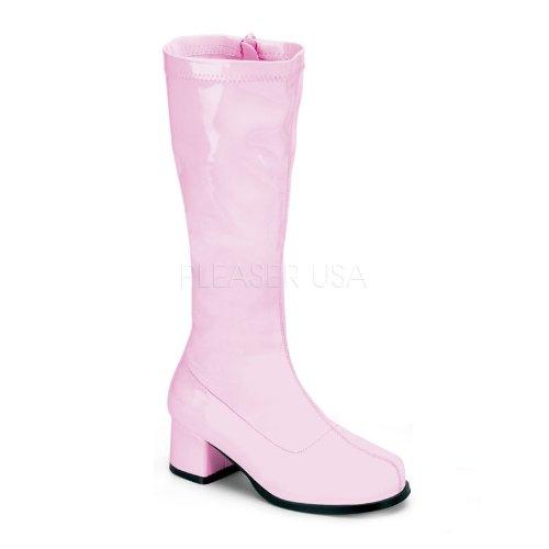 Funtasma Girl's Gogo 100 Boots,Pink,X-Large -