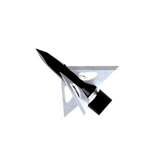 Slick Trick Magnum Fixed Blade Broadhead 100 Grain Stainless Steel Pack of 4