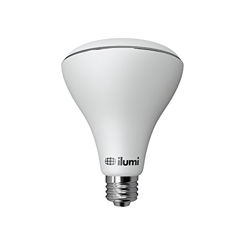 ilumi Bluetooth Smart LED BR30 Flood Light Bulb, 2nd Generation - Smartphone Controlled Dimmable Multicolored Color Changing Light - Works with iPhone, iPad, Android Phone and Tablet ()