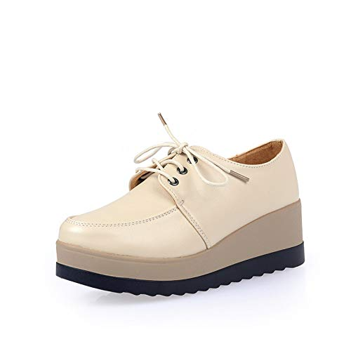 Cuero de para Gruesos Casuales con Mujer de Estudiantes Zapatos Zapatos Tirantes Zapatos Zapatos Deportivos Hasag Zapatos nuevos gqT4wF