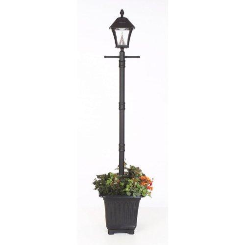 Sun Energy Solar Lamp Post Planter