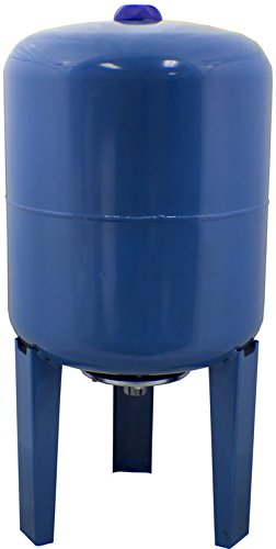 Duda Energy ExpTank-050VL-PW 50 L/13.2 gallon Blue Expansion Tank for Wells & Domestic Hot Water Supply Tank Thermal Pressure Protection by Duda Energy