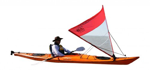 pas-10rc-pacific-action-sail-1-sqm-red-clear-kayak-not-included