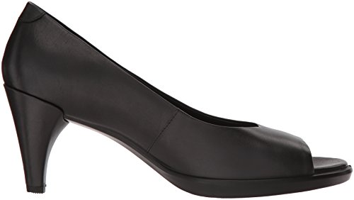 ECCO Toe 55 Shape 1001 Open Black Black Women's Heels raqFfrU