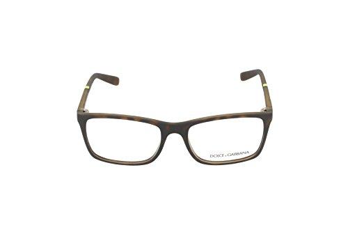 Dolce & Gabbana Montures de lunettes 5004 Lifestyle Pour Homme Black, 53mm 2980: Rubber Tortoise